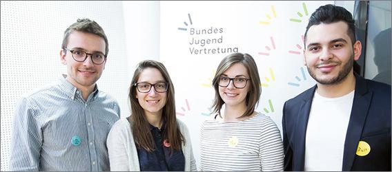 Das 4-köpfige BJV-Vorsitzteam