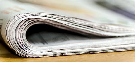 Zeitungsrolle