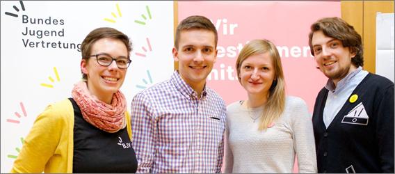 Vorsitzteam Bundes Jugend Vertretung