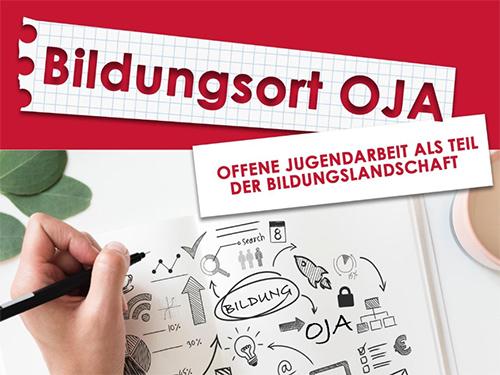 "Titelbild des Folders ""Bildungsort OJA"""